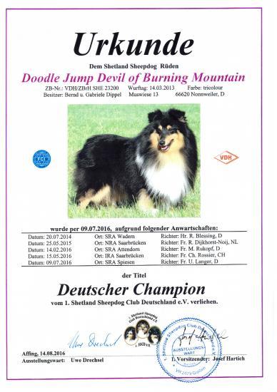 Jumper championtitel 1